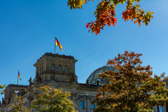 Der Bundestag Berlin Germany Stockfotografie