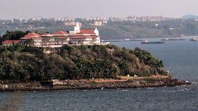 Der Bungalow des Gouverneurs - Goa Lizenzfreies Stockbild