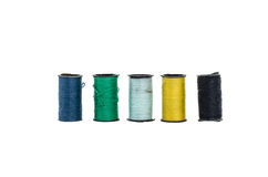 Der bunte Minin-Thread in lokalisierter Art Lizenzfreies Stockfoto