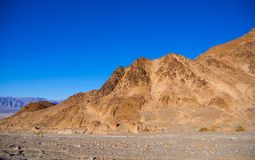 Der bunte Nationalpark Death Valley bei Sonnenuntergang Lizenzfreies Stockbild