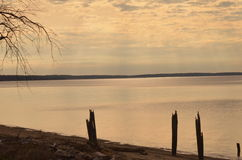 Der bunte Potomac Stockfotografie