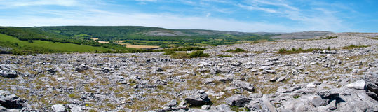 Der burren Nationalpark Irland Lizenzfreie Stockfotos