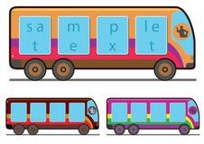 Der Bus lizenzfreies stockfoto