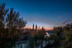 Der Caledon-Fluss Stockbild
