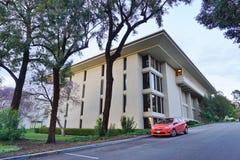 Der Campus des abendländischen Colleges (Oxy) stockbild