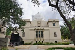 Der Campus von Caltech (California Institute of Technology) Lizenzfreies Stockbild
