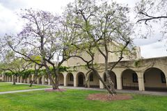 Der Campus von Caltech (California Institute of Technology) Stockbilder
