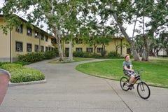 Der Campus von Caltech (California Institute of Technology) stockbilder