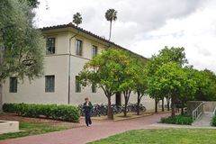 Der Campus von Caltech (California Institute of Technology) Lizenzfreie Stockbilder