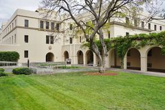 Der Campus von Caltech (California Institute of Technology) Stockfotos