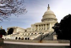 Der Capitol- Hillgebäude Lizenzfreies Stockbild