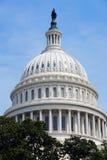 Der Capitol- Hillgebäudehaubenahaufnahme, Washington DC Stockbilder