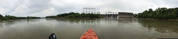 Der Catawba-Fluss Stockfotos
