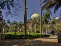 Der Chhatrapati Shivaji Maharaj Vastu Sangrahalaya, nannte früher den Prinzen von Wales-Museum stockfotografie