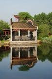 Der chinesische alte Garten Stockbild