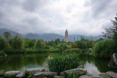 Der Chongsheng-Tempel Stockbild
