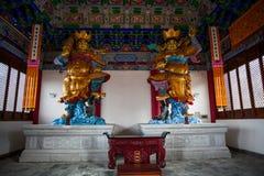 Der Chongsheng-Tempel Stockbilder