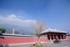 Der Chongsheng-Tempel und die Drei-Pagode Lizenzfreie Stockbilder