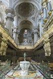 Der Chor ist einer von den größten in Spanien, da es aus 14 besteht Stockfoto
