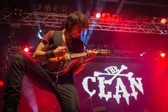 Der Clan bei Live Music Club MI 16-03-2018 Lizenzfreies Stockfoto