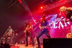 Der Clan bei Live Music Club MI 16-03-2018 Lizenzfreies Stockbild