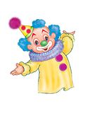 Der Clown Stockbild