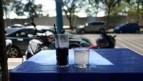 Der colded Kaffee in Vietnam stockbilder