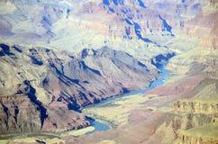 Der Colorado an Grand Canyon -Südkante Lizenzfreie Stockbilder