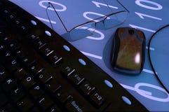 Der Computer stockfoto