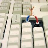 Der Computer stockfotografie