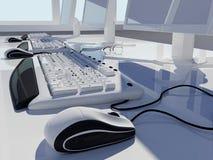 Der Computer stock abbildung