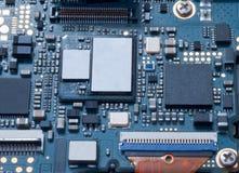 Der Computer-Chip-Abschluss oben Lizenzfreie Stockfotografie