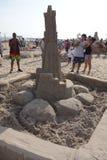Der Coney Island-Sand-Sculpting Wettbewerb 2014 65 Lizenzfreies Stockfoto