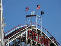 Der Coney Island-Wirbelsturm 14 Lizenzfreie Stockfotografie