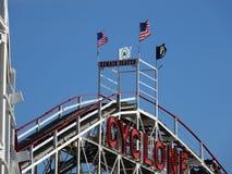 Der Coney Island-Wirbelsturm 16 Lizenzfreie Stockbilder