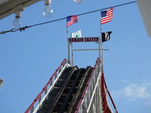 Der Coney Island-Wirbelsturm 34 Stockfotografie