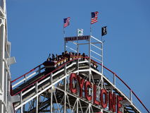 Der Coney Island-Wirbelsturm 46 Stockbild