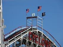Der Coney Island-Wirbelsturm 52 Stockfotografie