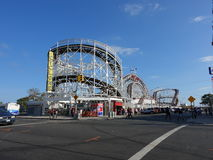Der Coney Island-Wirbelsturm 86 Stockfotografie