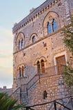 Der Corvaja-Palast in Taormina Lizenzfreies Stockbild