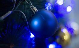 Der cristmas Ball Stockfoto