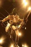 Der 3-D Manöver-Gang von Shingeki kein Kyojin Lizenzfreies Stockfoto