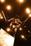Der 3-D Manöver-Gang von Shingeki kein Kyojin Stockbild