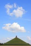 Der Damm des Löwes von Waterloo Stockfotos