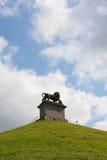 Der Damm des Löwes von Waterloo Stockfotografie