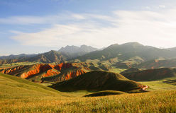 Der Danxia-Berg Lizenzfreie Stockbilder