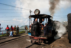 Der Darjeeling Toy Train Stockbilder