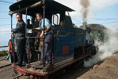 Der Darjeeling Toy Train Stockfotografie