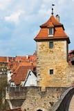 Der defensive Turm der mittelalterlichen Festung, Deutschland Lizenzfreie Stockfotografie