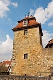Der defensive Turm der mittelalterlichen Festung, Deutschland Stockfotografie